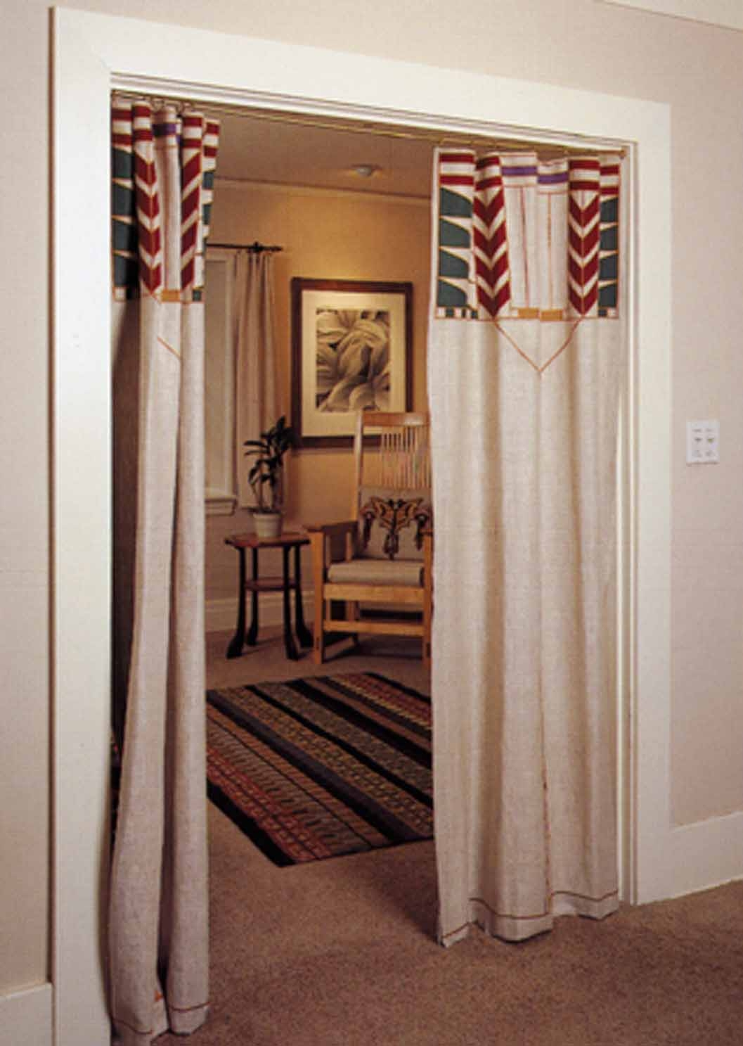 Doorway Curtains Design Ideas And Decor For Image 18 Of 25