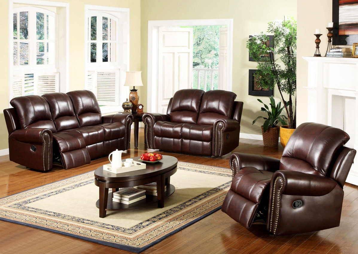 Download Fresh Brown Leather Living Room Teabj For Living Room Sofas And Chairs (Image 2 of 15)