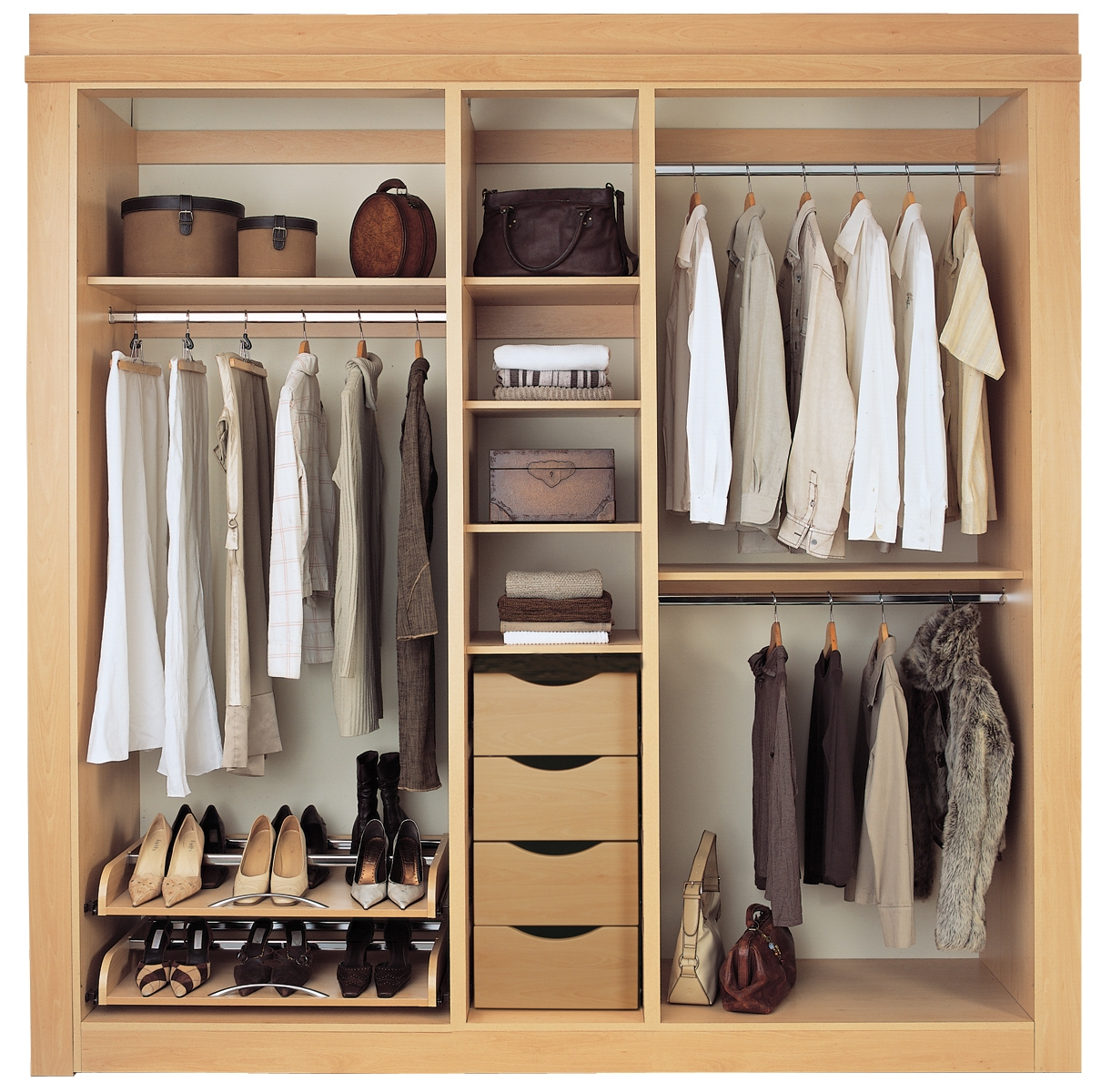 Drawers Design Is Different And Unique Built In Storage Solutions Within Bedroom Wardrobe Storages (View 7 of 25)