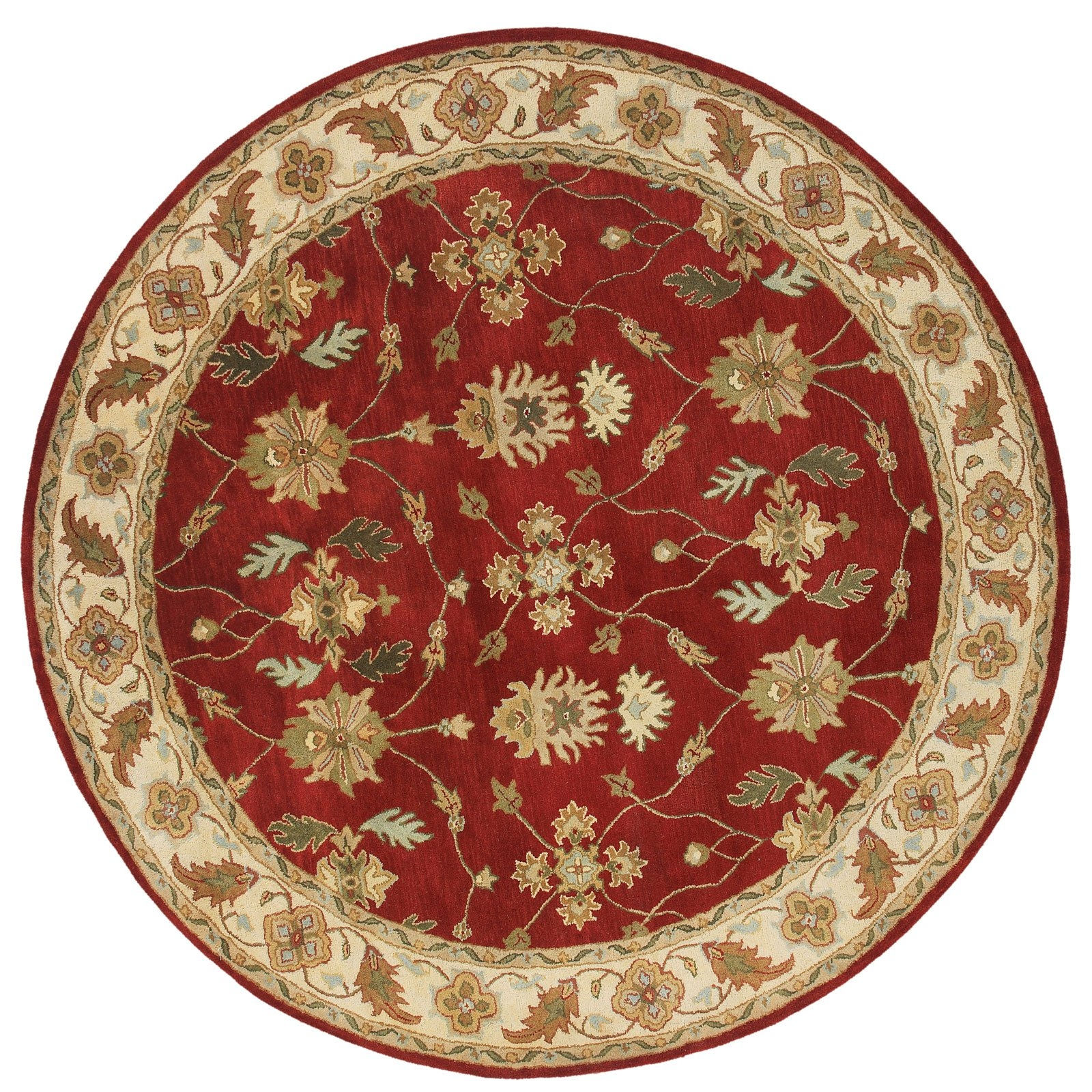 Dynamic Rugs Charisma 1403 Namix Persian Rug Redivory Area In Round Persian Rugs (Image 7 of 15)