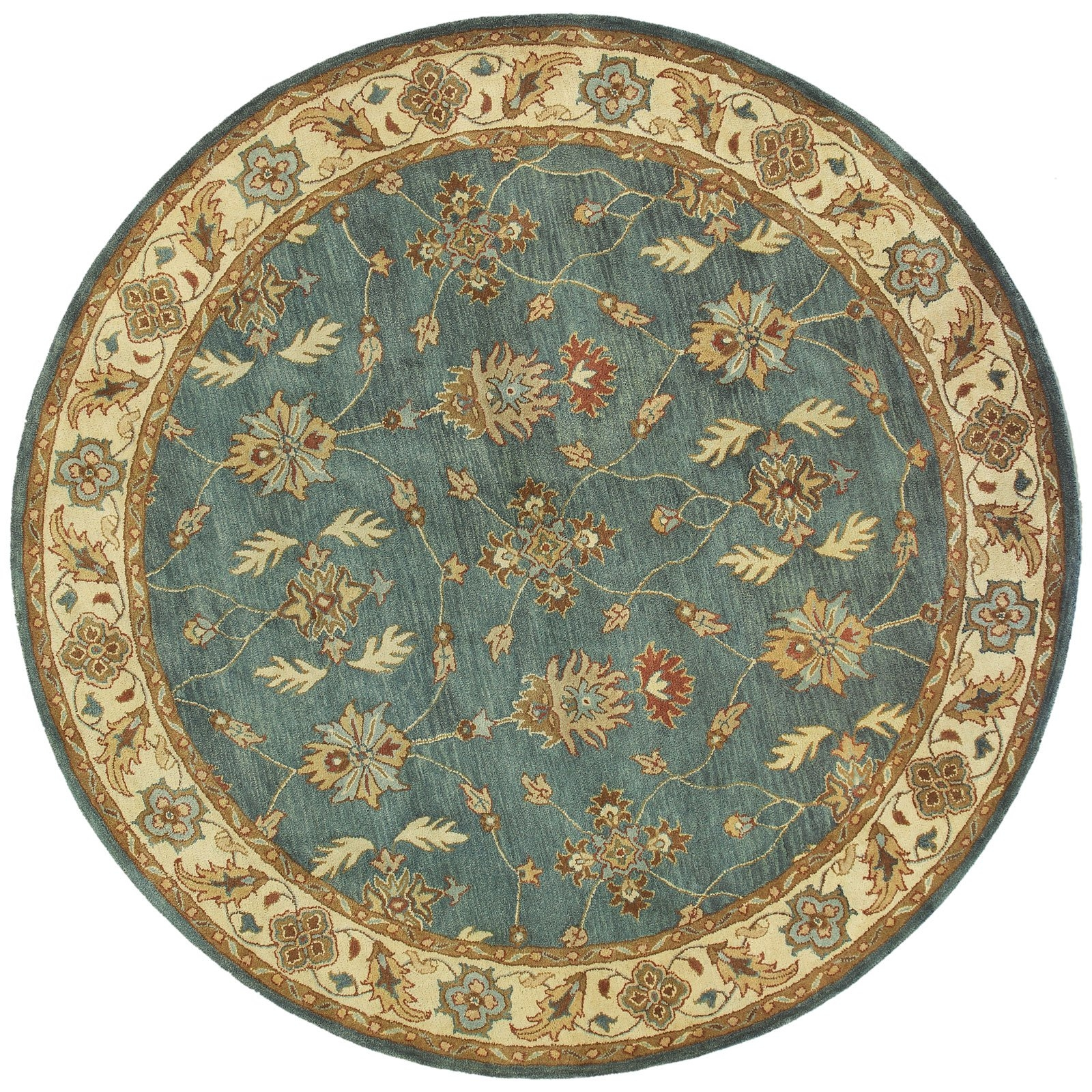 Dynamic Rugs Charisma 1403 Namix Persian Rug Redivory Area Inside Round Persian Rugs (Image 8 of 15)