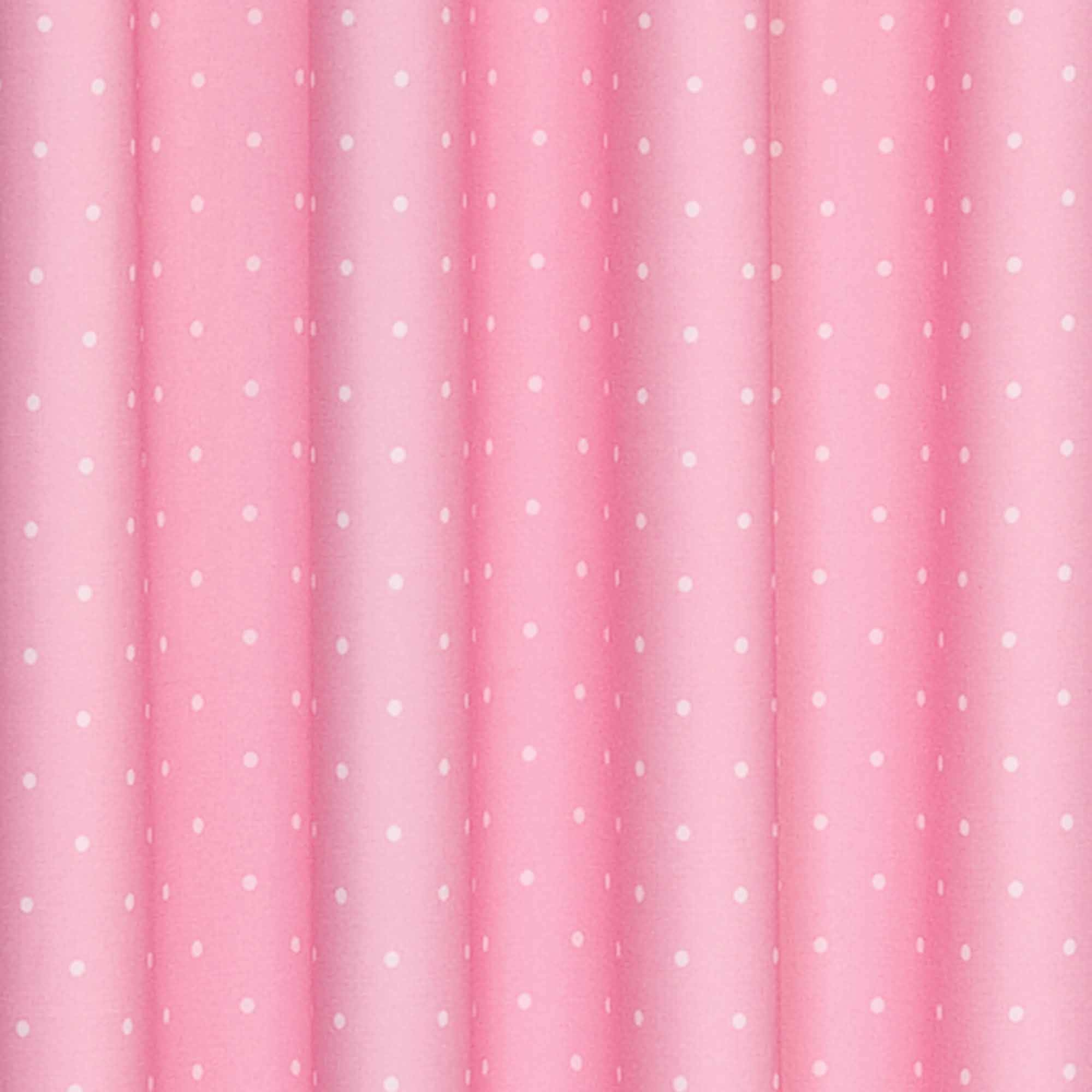 Eclipse Dots Blackout Thermal Girls Bedroom Curtain Panel Inside Navy And White Polka Dot Curtains (Image 12 of 25)