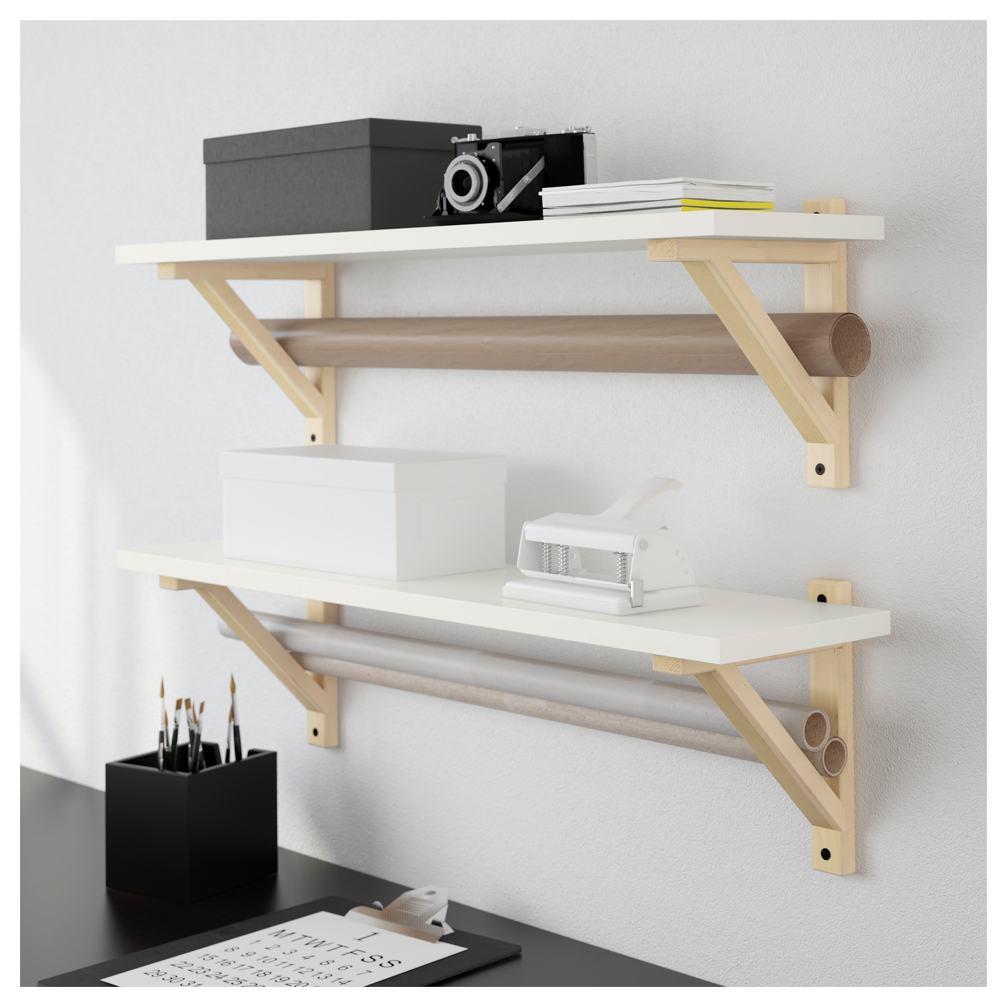 Ek Sten Ek Valter Wall Shelf Ikea In Wall Shelves (Image 6 of 15)