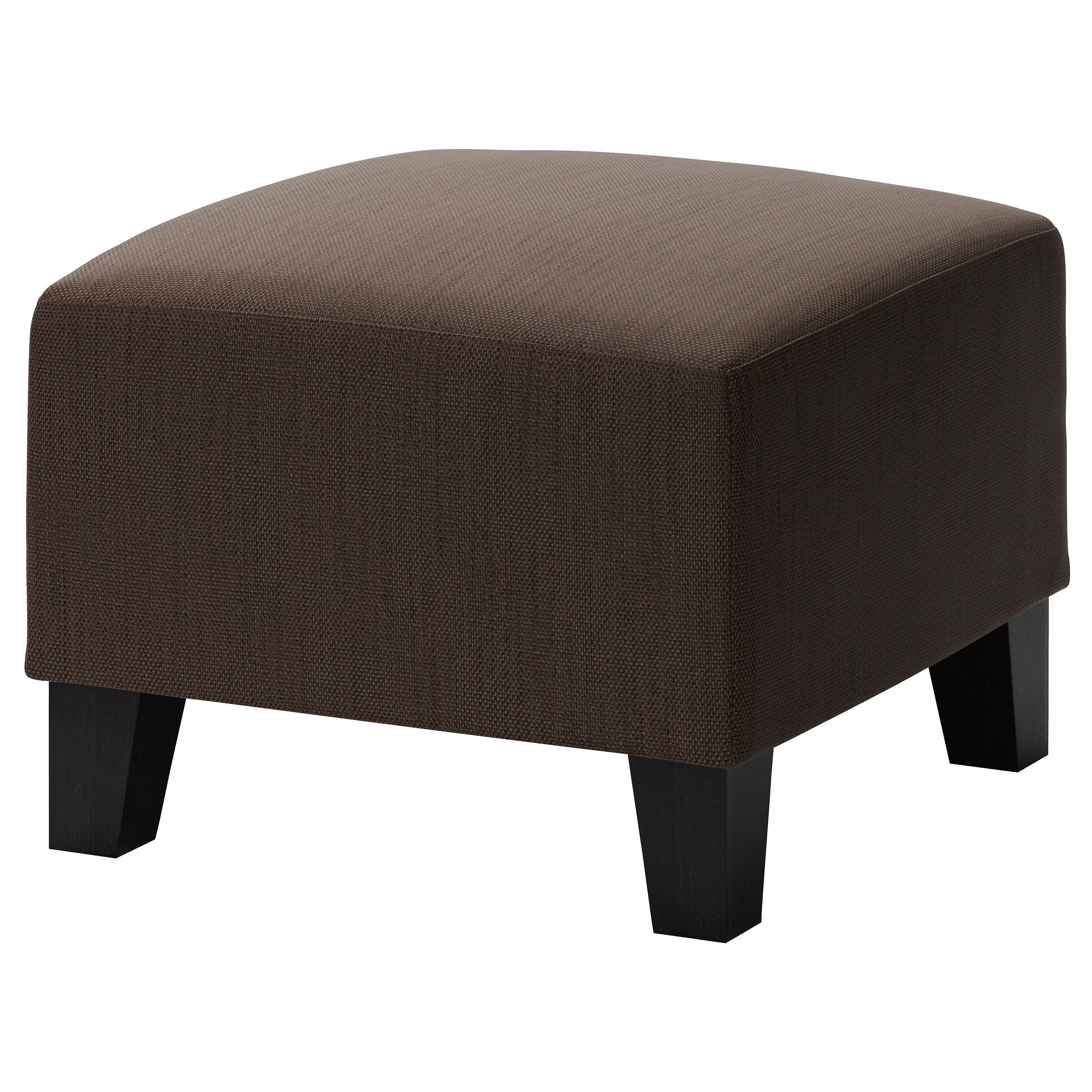 Ekens Footstool Hensta Dark Brown Ikea With Regard To Small Footstools And Pouffes (View 7 of 15)