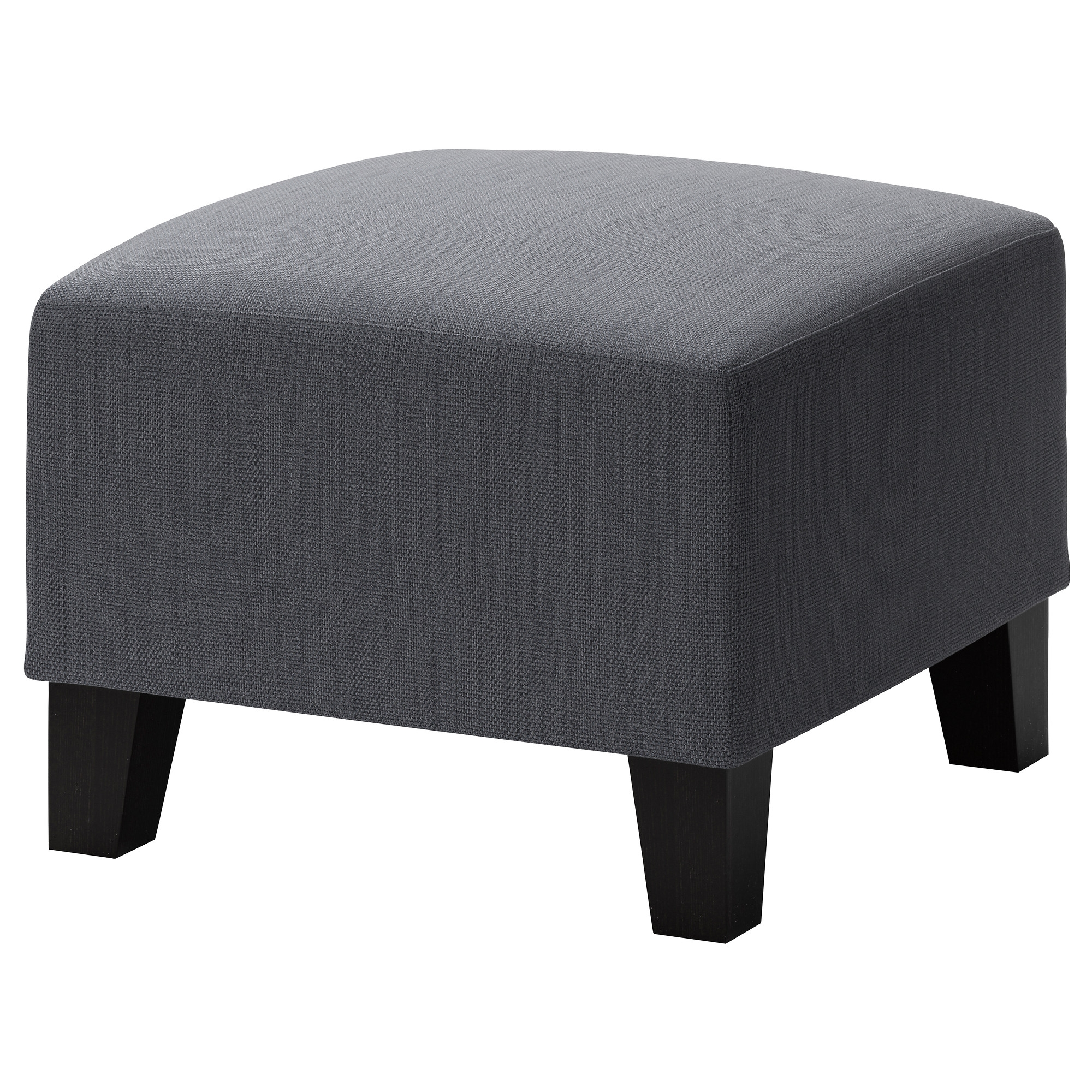 Ekens Footstool Hensta Grey Ikea Regarding Ikea Footstools And Pouffes (Image 2 of 15)