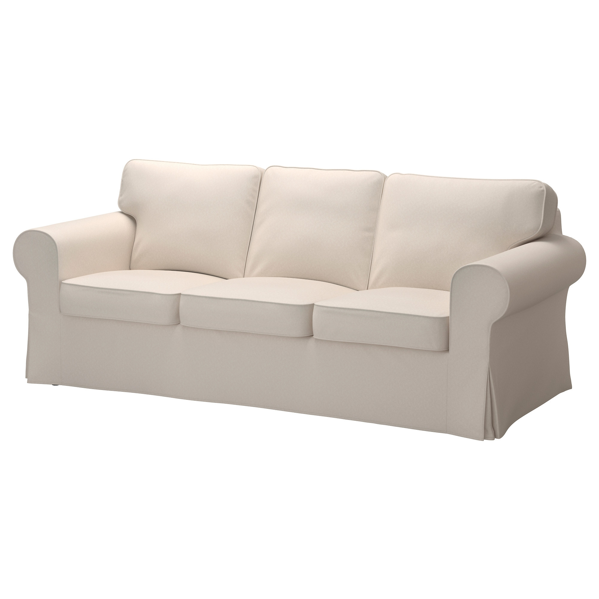Ektorp Sofa Lofallet Beige Ikea Intended For Sofa With Removable Cover (Image 6 of 15)