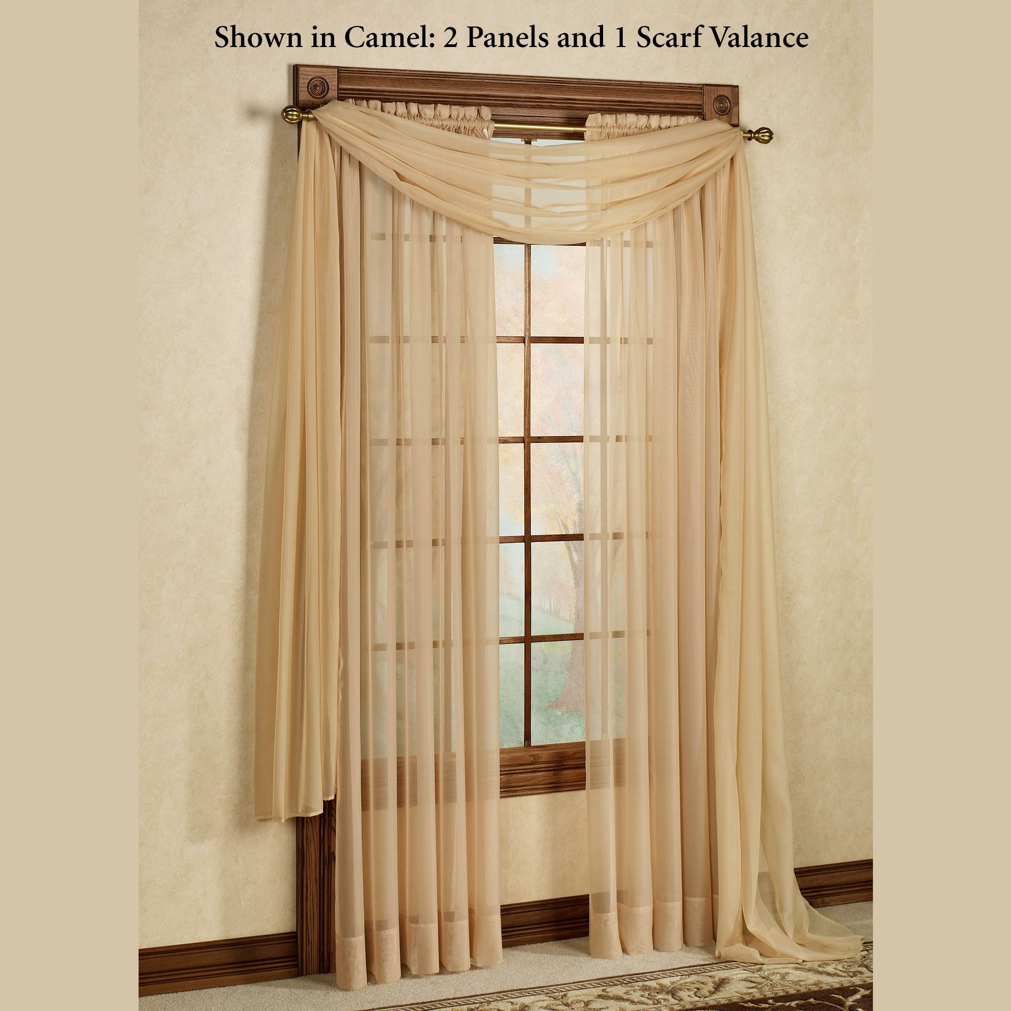 Elegance Sheer Window Treatments For Curtains Sheers (View 7 of 25)