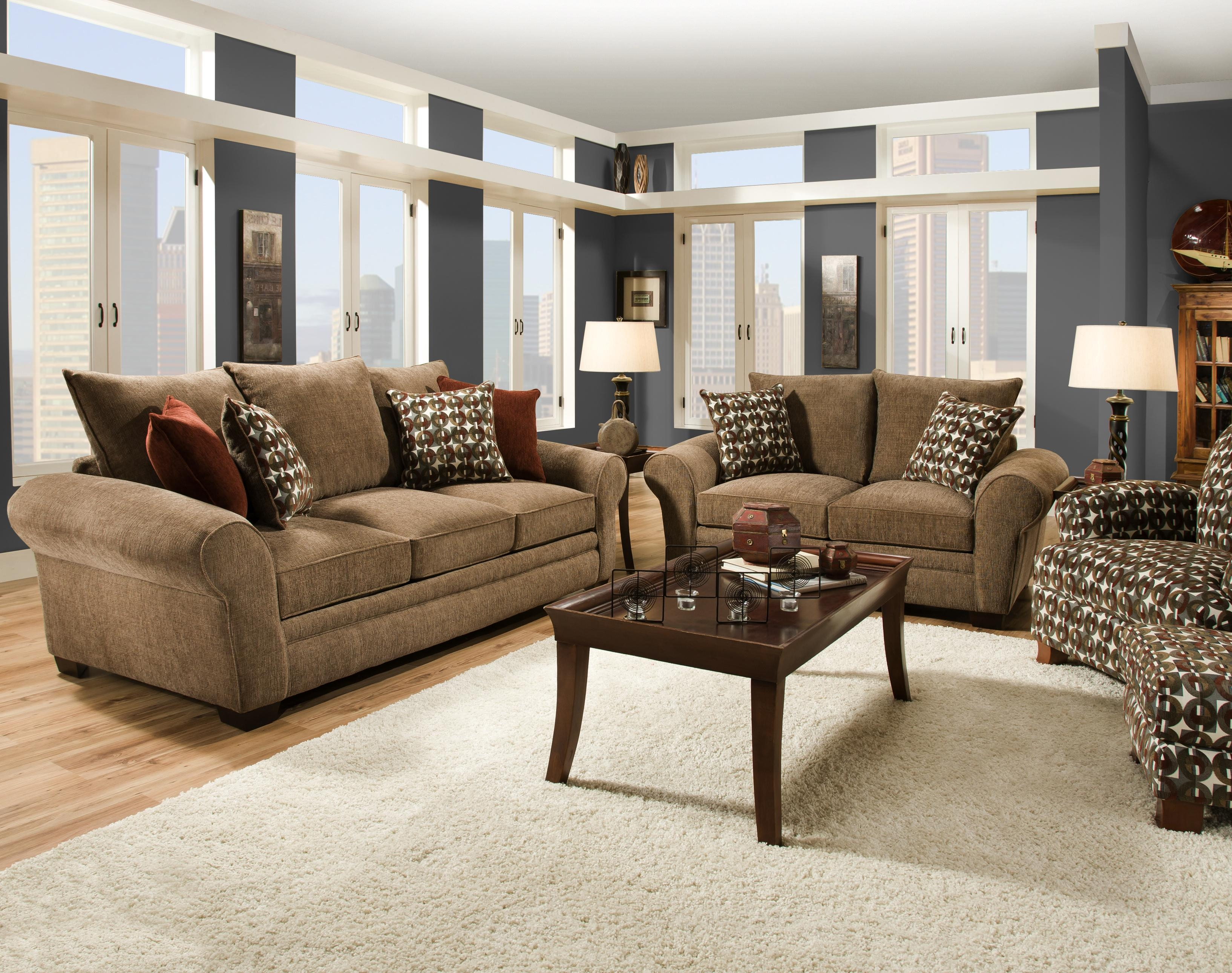 Elegant And Casual Living Room Sofa For Family Styled Comfort Inside Casual Sofas And Chairs (Image 9 of 15)