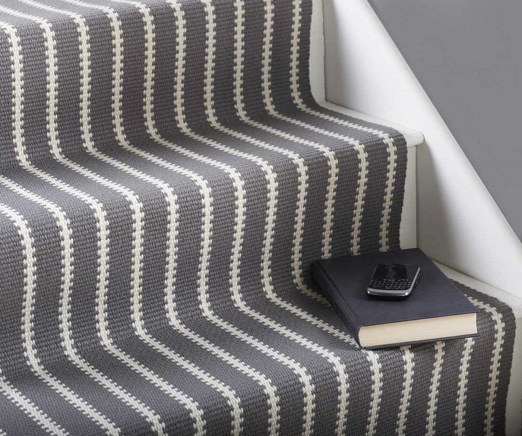 Endearing Stair Treads Carpet For Interesting Stair Flooring Ideas Within Fabric Stair Treads (Image 9 of 15)