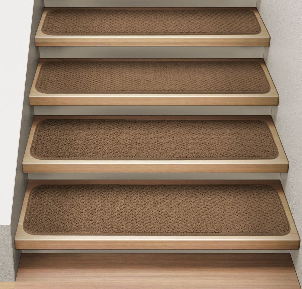 Endearing Stair Treads Carpet For Interesting Stair Flooring Ideas Within Stair Treads And Rugs (Image 7 of 15)