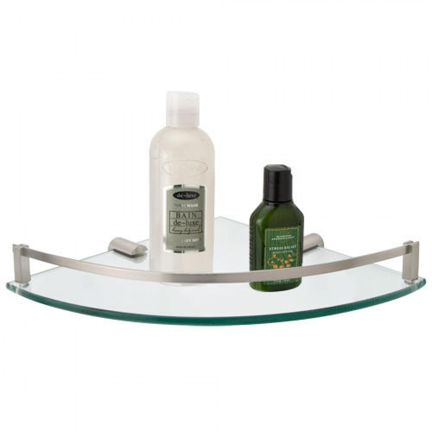 Engel Tempered Glass Corner Shelf Bathroom For Glass Corner Shelves (Photo 9 of 15)