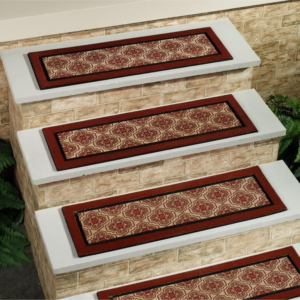 Entry Mudroom Wondrous Carpet Stair Treads With Classic Colors Inside Stairway Carpet Treads (Image 5 of 15)