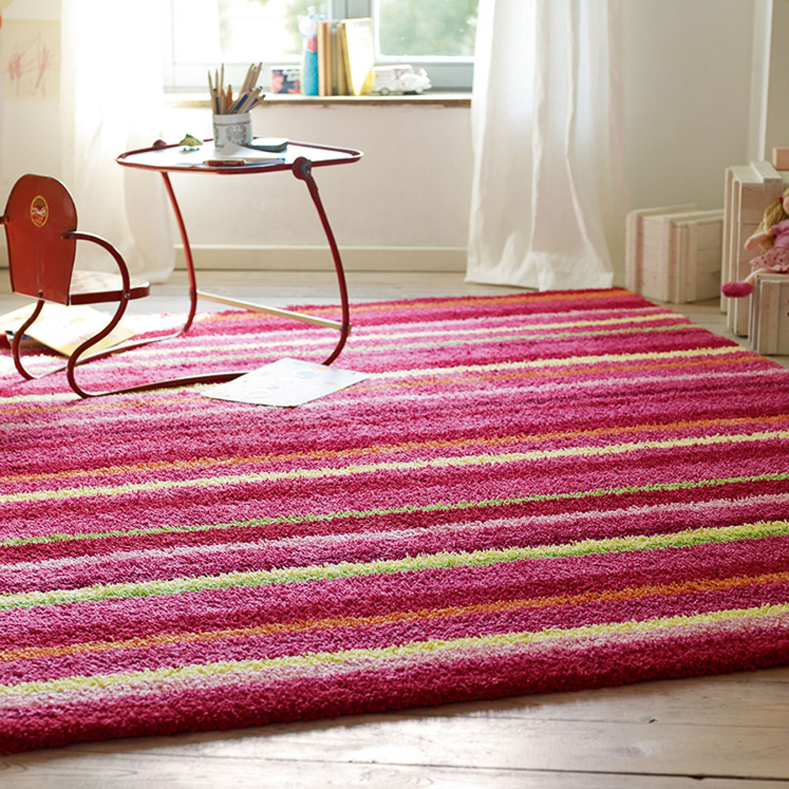 Esprit Funny Stripes Rugs 2845 03 Multi Free Uk Delivery The With Esprit Rugs (Image 8 of 15)