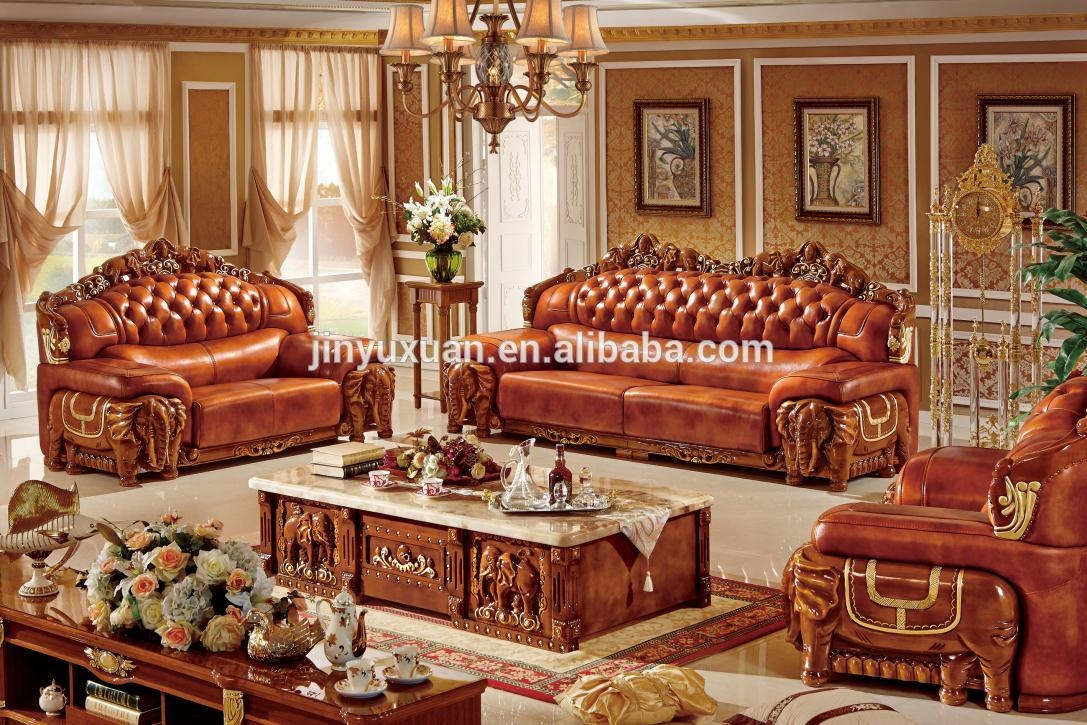 European Leather Sofa European Leather Sofa Suppliers And For Classic Sofas For Sale (Image 4 of 15)