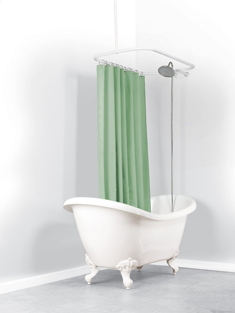 Everything You Need To Know About Clawfoot Bathtubs Ultimate Guide For Shower Curtains For Clawfoot Tubs (Image 15 of 25)