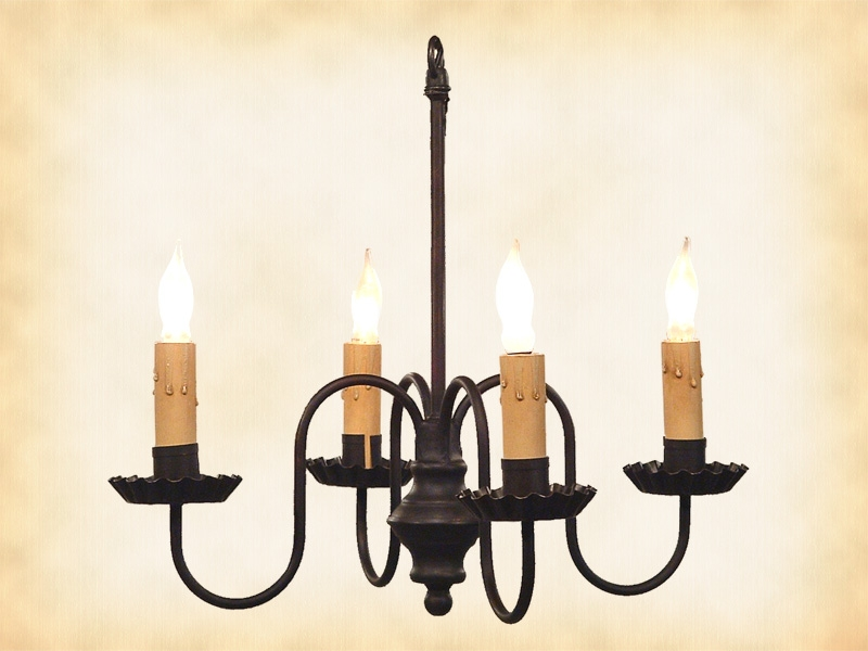 Excellent Best Wrought Iron Lights In Primitive Wrought Iron Chandelier Peppermill (Image 4 of 25)
