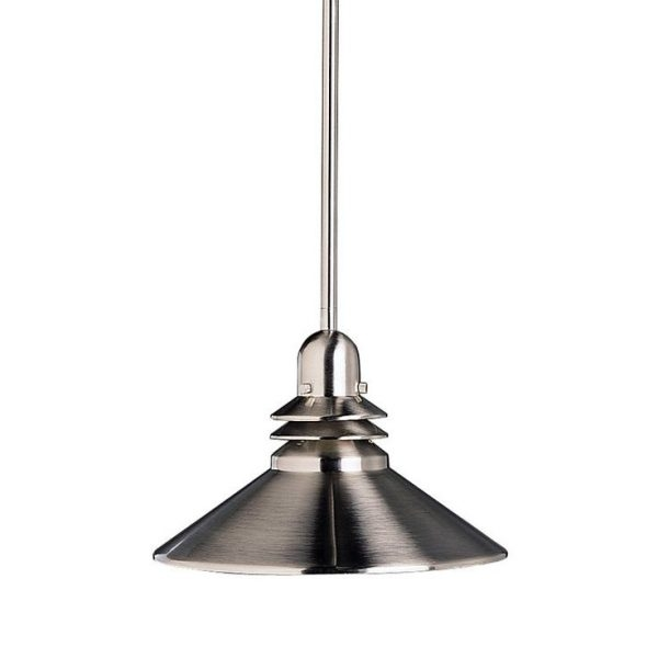 Excellent Brand New Brushed Stainless Steel Pendant Lights With Regard To Adorable Stainless Steel Pendant Light New Led Lighting Pendant (View 1 of 25)