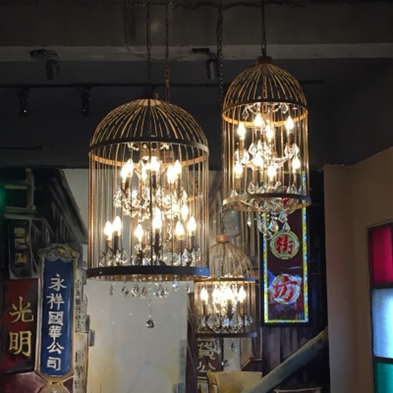 Excellent Common Birdcage Pendant Lights Inside Aliexpress Buy Birdcage Pendant Light Kitchen Vintage (Image 7 of 25)