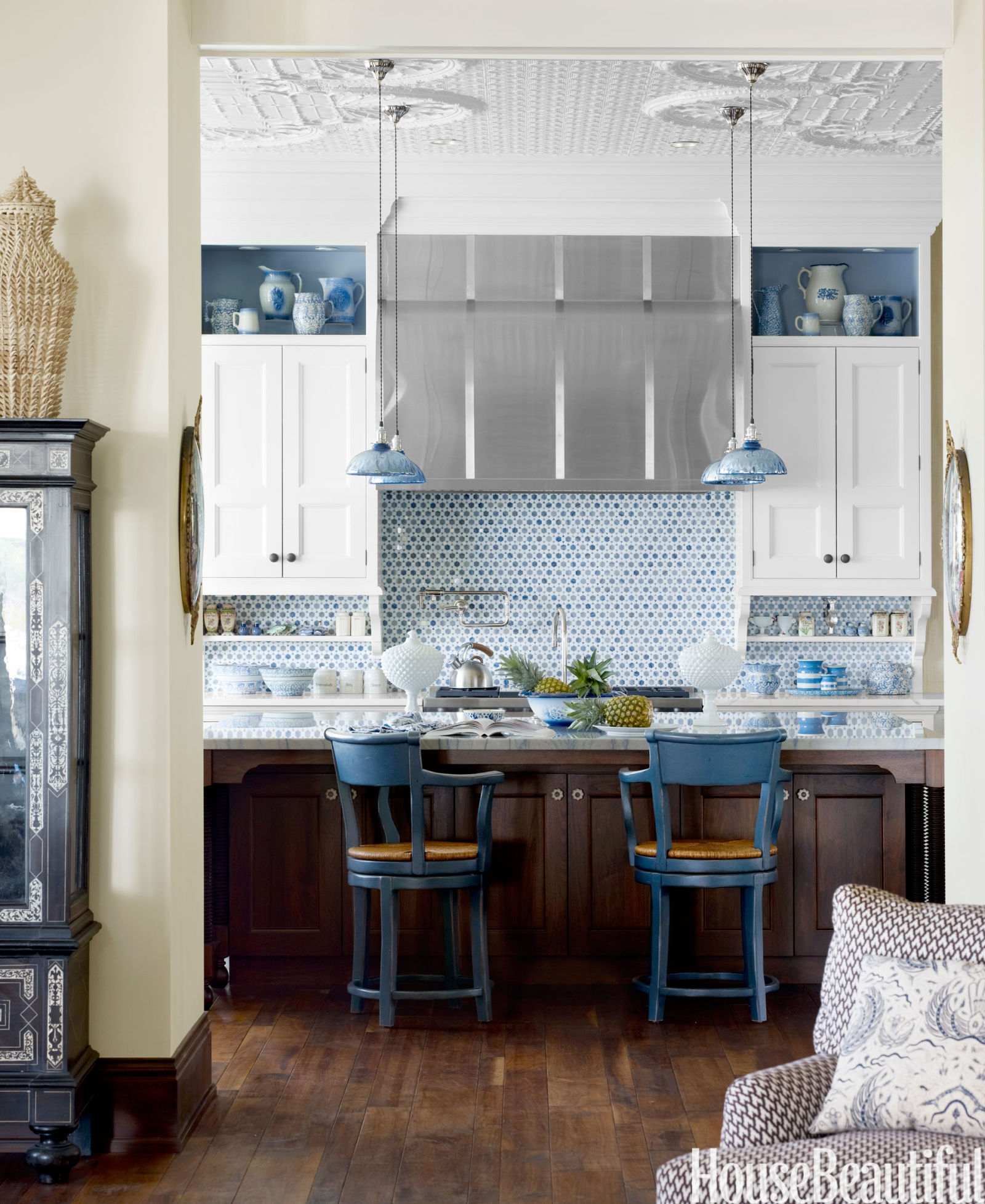 Excellent Common Blue Mercury Glass Pendant Lights With Regard To Blue Exotic Kitchen House Beautiful Pinterest Favorite Pins July (Image 7 of 15)
