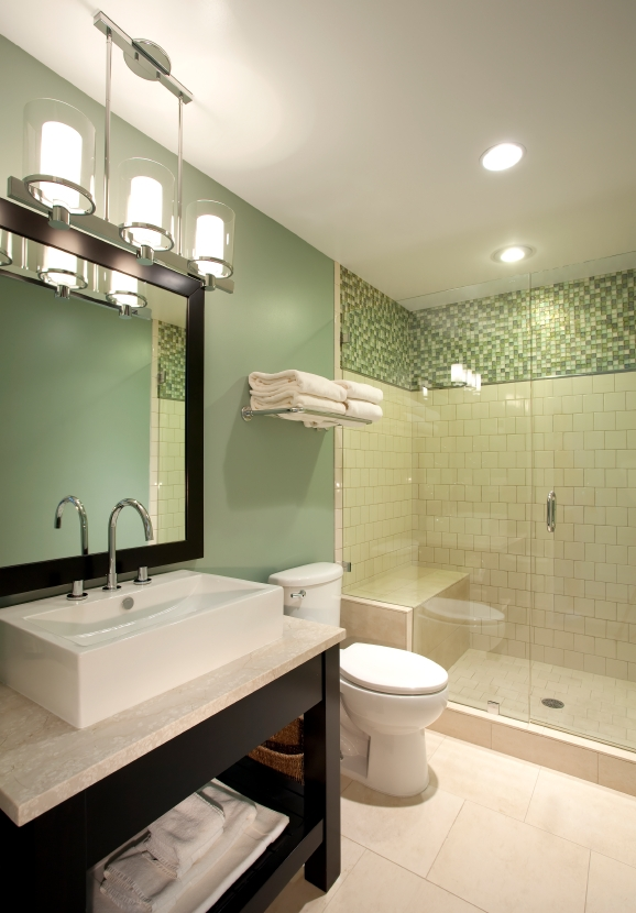 Excellent Deluxe Bathroom Mini Pendant Lights Within 7 Simple Ways To Modernize An Outdated Bathroom Modernize (Image 13 of 25)