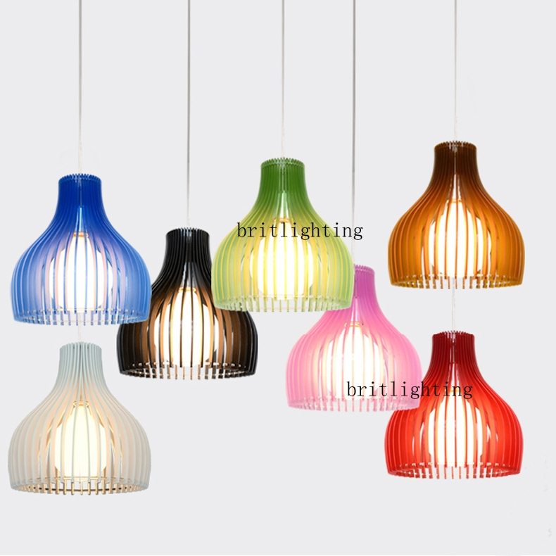 Excellent Deluxe Coloured Cord Pendant Lights Throughout Aliexpress Buy Multi Colour Pendant Lamp Modern Pendant (Image 8 of 25)