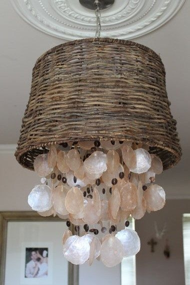 Excellent Elite Shell Light Shades Pertaining To Best 25 Shell Chandelier Ideas On Pinterest Diy Chandelier (Image 13 of 25)