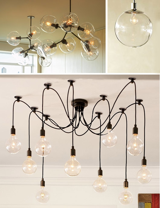 Featured Image of Bare Bulb Cluster Pendants