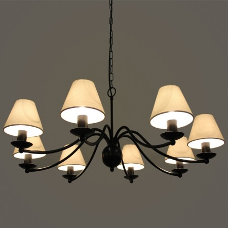 Excellent Famous Wrought Iron Light Fittings Intended For Wrought Iron Chandeliers Bespoke Lighting Co (View 5 of 25)