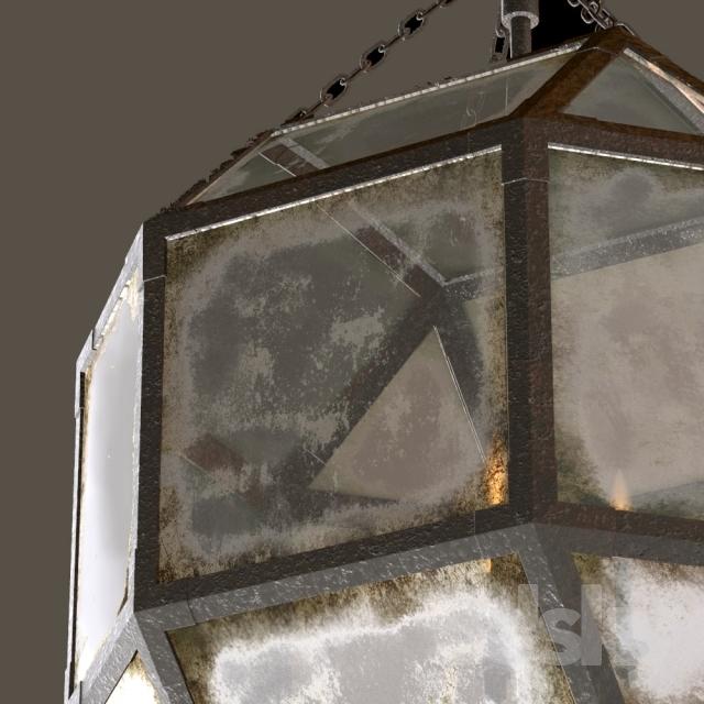 Excellent Fashionable Octagon Pendant Lights Inside 3d Models Ceiling Light Rh Parisian Octagonal Pendant 3 Size (Image 7 of 25)