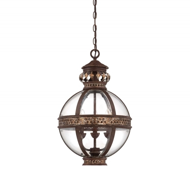 Excellent Favorite French Style Glass Pendant Lights For Incredible French Art Deco Pendant Lamp With Big Glass Ball For (Image 6 of 25)