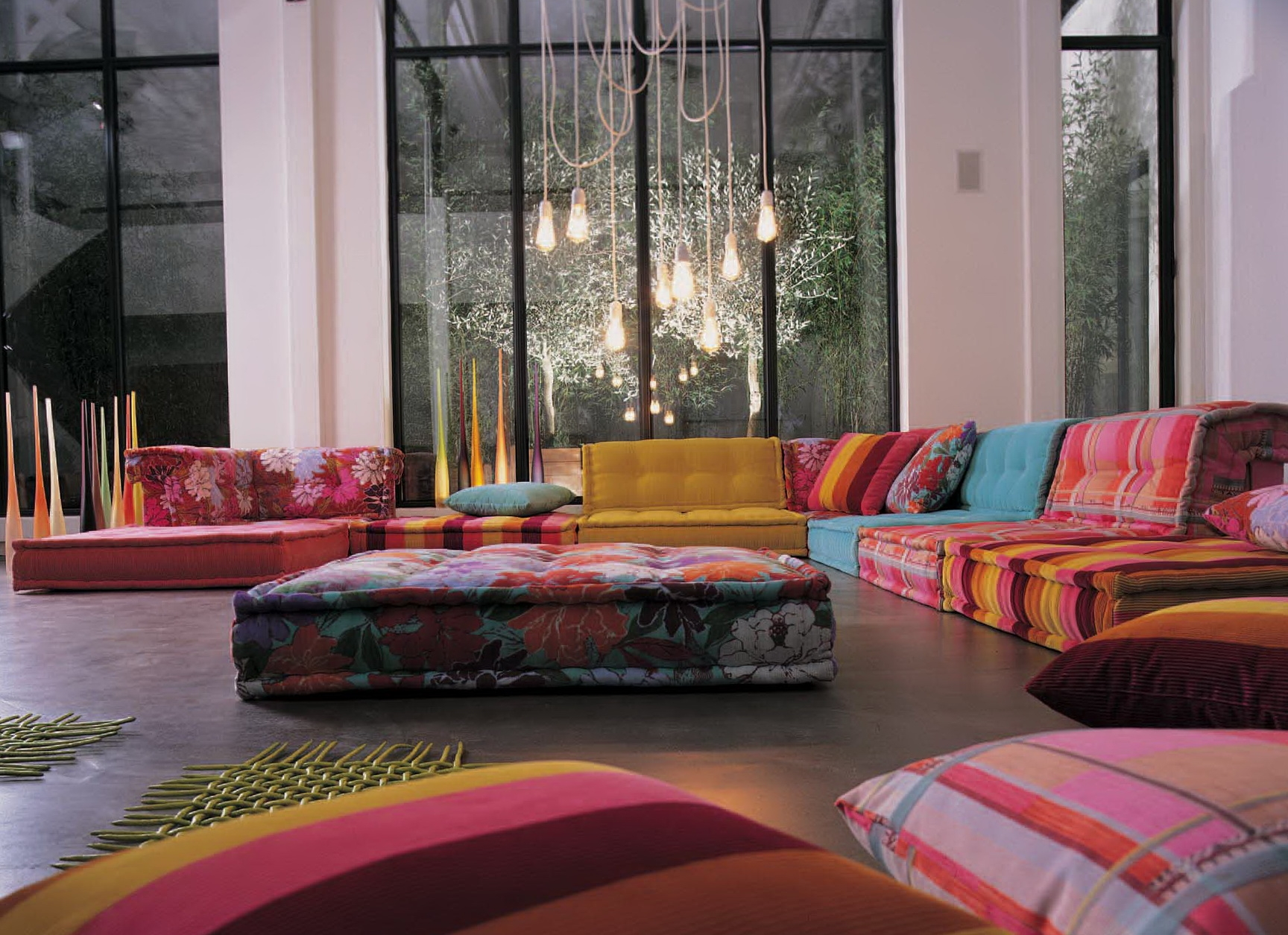 Excellent Floor Cushion Sofa Images Decoration Inspiration Tikspor For Moroccan Style Floor Seating (Photo 14 of 15)