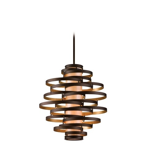 Excellent High Quality Corbett Vertigo Medium Pendant Lights With Regard To Block Lighting Corbett (View 25 of 25)