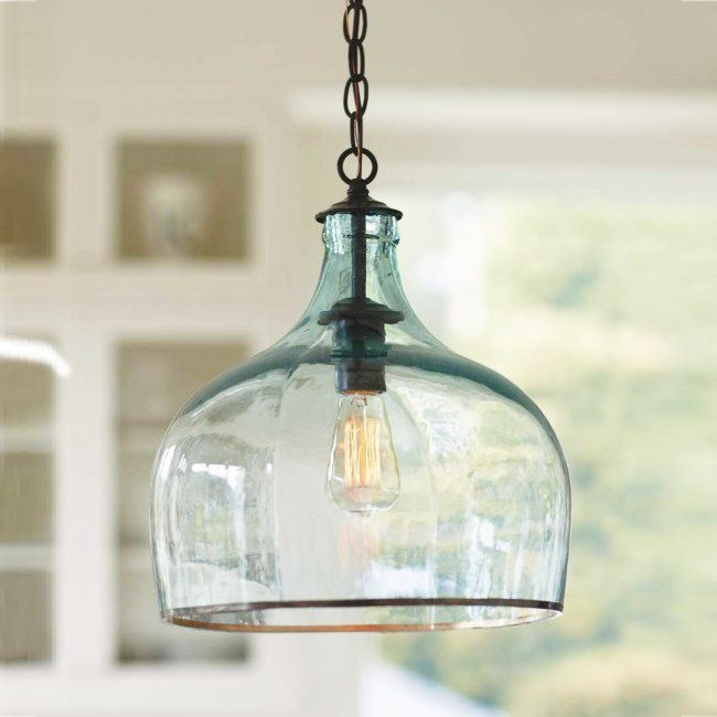 Excellent High Quality Paxton Glass 3Light Pendants With Best 25 Glass Pendant Light Ideas On Pinterest Kitchen Pendants (View 10 of 25)