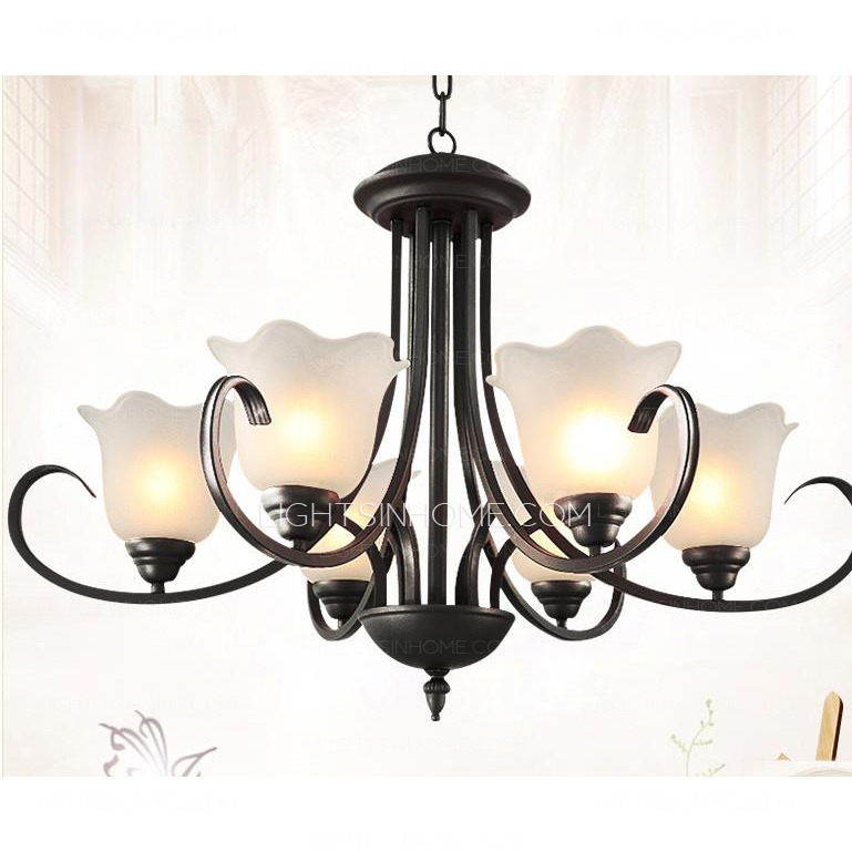 Excellent High Quality Wrought Iron Lights With Regard To Black Wrought Iron Chandeliers Large Wrought Iron Chandeliers (Image 5 of 25)