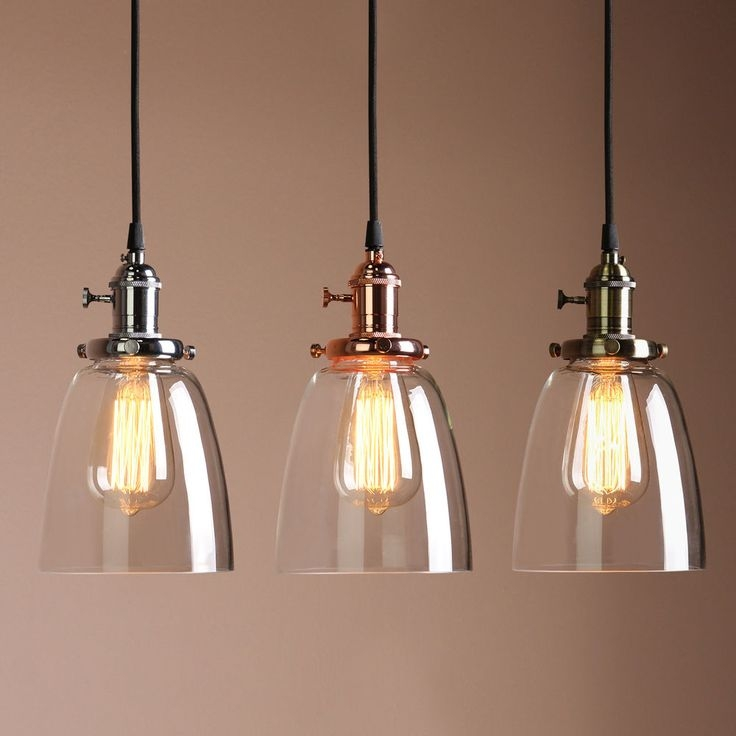 Excellent Latest Brown Glass Pendant Lights Pertaining To Best 25 Glass Pendant Light Ideas On Pinterest Kitchen Pendants (Image 11 of 25)