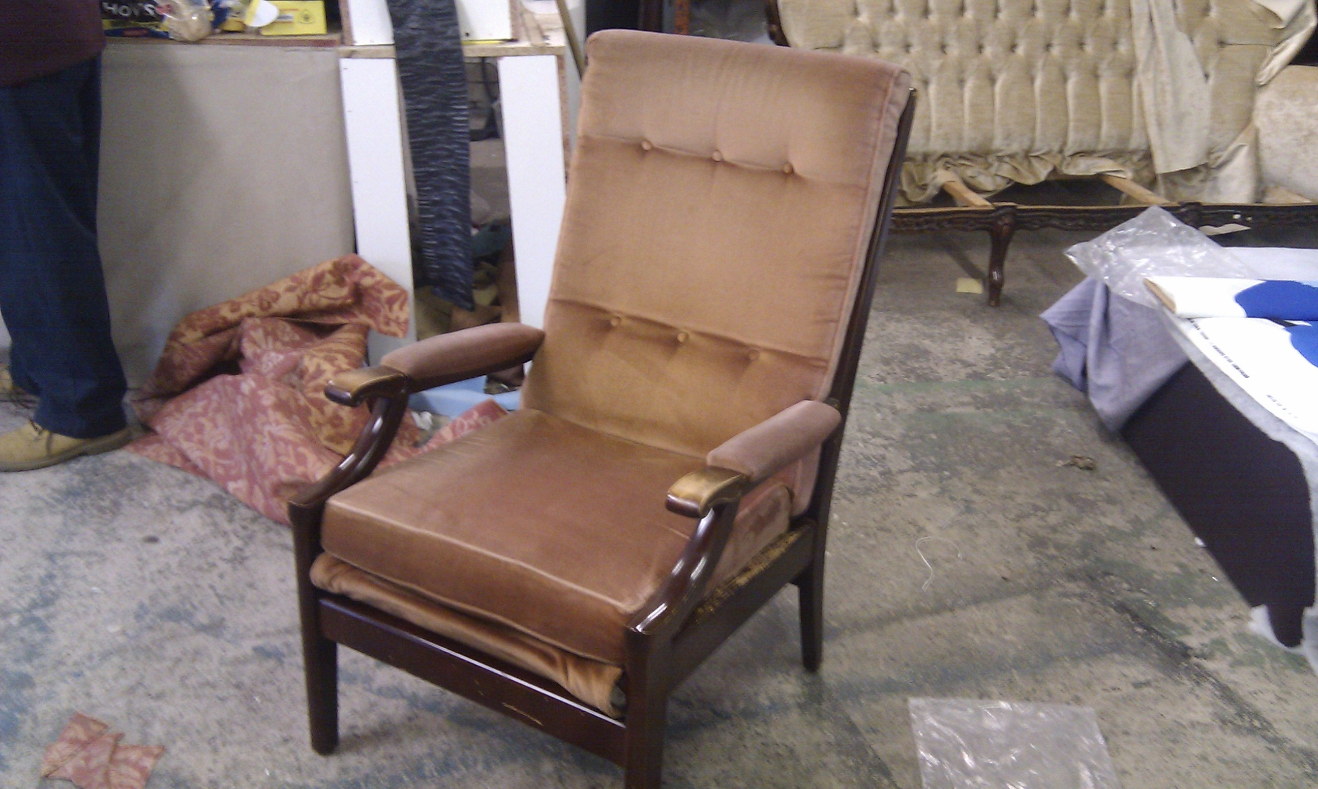 Excellent New Cintique Fabric Chairs Pertaining To Cintique Abbey Upholstery And French Polishing Leeds (Image 4 of 15)