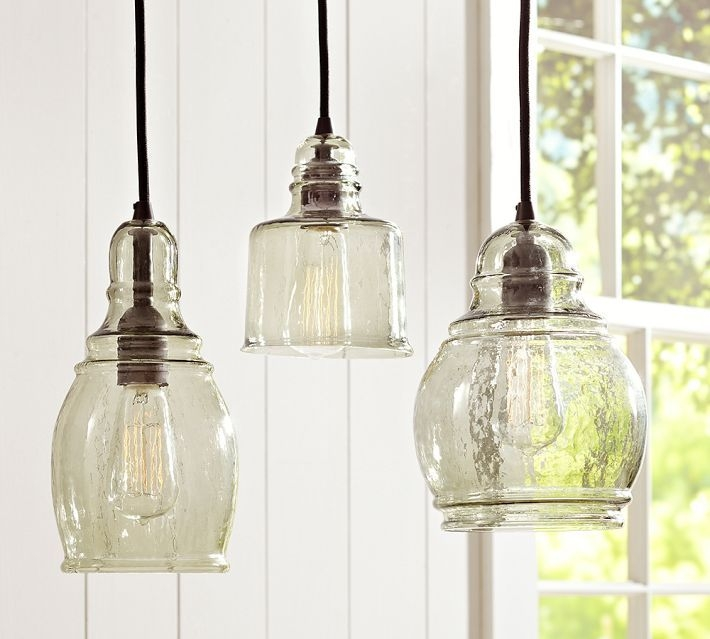 Excellent New Glass Jug Light Fixtures With Regard To Best 10 Pottery Barn Lighting Ideas On Pinterest Barn Lighting (Image 6 of 25)