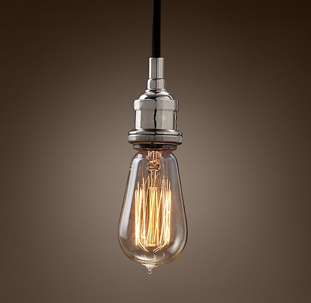 Excellent New Industrial Bare Bulb Pendant Lights For Light Bulb 3d Model 3d Assets Pinterest 3d (Image 8 of 25)