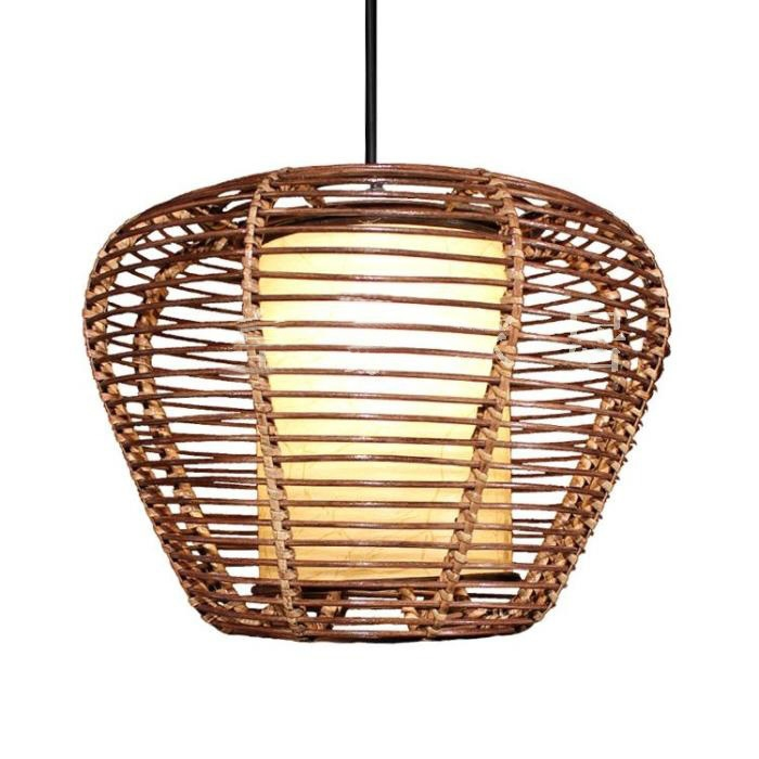 Excellent New Rattan Pendant Light Fixtures Regarding Online Get Cheap Rattan Pendant Light Fixtures Aliexpress (Image 12 of 25)
