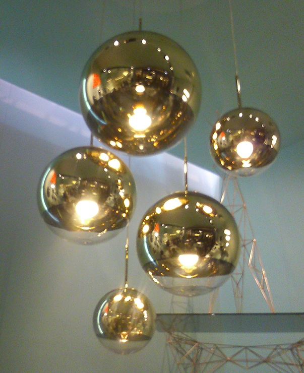 Excellent Preferred Disco Ball Pendant Lights In Milan Furniture Fair Report 1 Home Decor Singapore (Image 10 of 25)