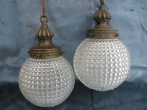 Excellent Preferred Double Pendant Light Fixtures Throughout Retro Lighting Pendant Lanterns And Swag Lamps (Image 6 of 25)