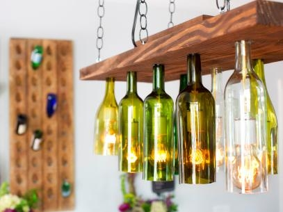 Excellent Preferred Glass Jug Light Fixtures Inside Brighten Up With These Diy Home Lighting Ideas Hgtvs Decorating (Image 8 of 25)