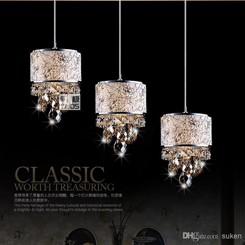 Excellent Premium Modern Pendant Chandelier Lighting Throughout Modern Crystal Chandelier Pendant Light Stair Hanging Light Luxury (Image 4 of 25)