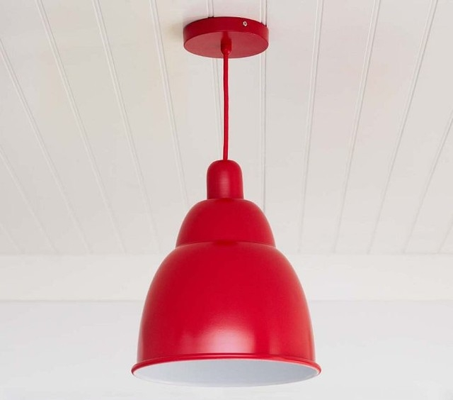 Excellent Premium Modern Red Pendant Lighting In Great Red Pendant Light Modern Mini Pendant Light With Red Glass (Image 10 of 25)