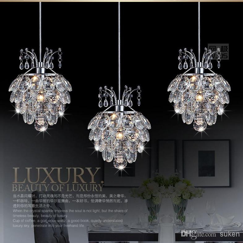 Excellent Series Of Modern Pendant Chandelier Lighting For Modern Crystal Chandelier Pendant Light Stair Hanging Light (Image 5 of 25)