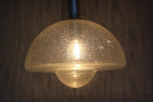 Excellent Top 1960s Pendant Lights Within German Glass Pendant Light From Temde Leuchten 1960s For Sale At (Image 6 of 25)