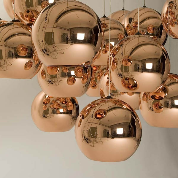 Excellent Top Disco Ball Pendant Lights With Light Pendants Tom Dixon Furnish Burnish (Image 11 of 25)