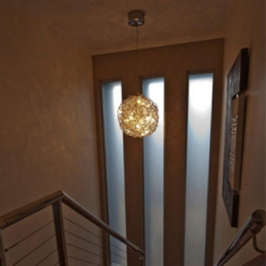 Excellent Top Entrance Pendant Lights Within Staircase Entrance Lighting Golightsau (Image 9 of 25)