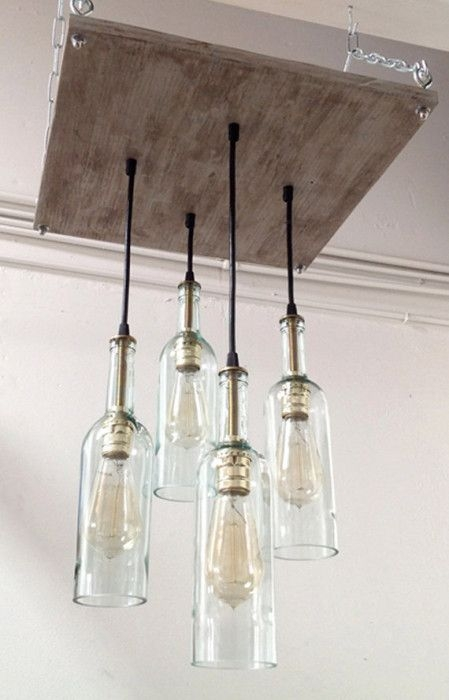 Excellent Trendy Glass Jug Light Fixtures With Best 25 Beer Bottle Lights Ideas On Pinterest Beer Bottle (Image 9 of 25)