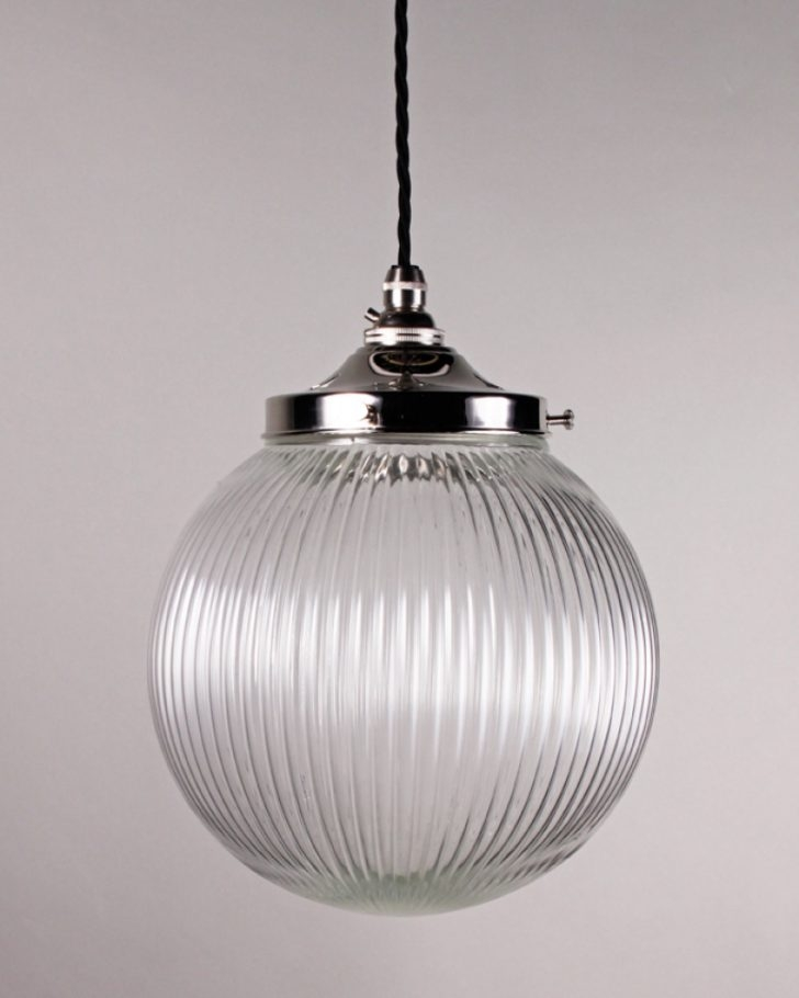 Excellent Trendy Milk Glass Pendants Pertaining To Large Globe Pendant Light Lighting Clear Glass Lightlarge  (Image 7 of 25)